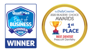 best dentist in prescott awards